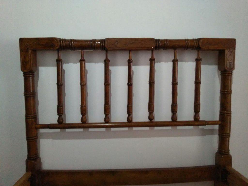 Latest Restauracin Muebles Antiguos With Cabeceros Cama Antiguos