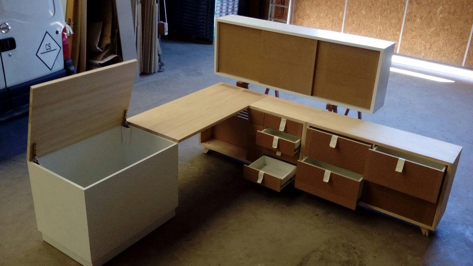 Dormitorio madera a medida carpinter a tablado - Dormitorio a medida ...