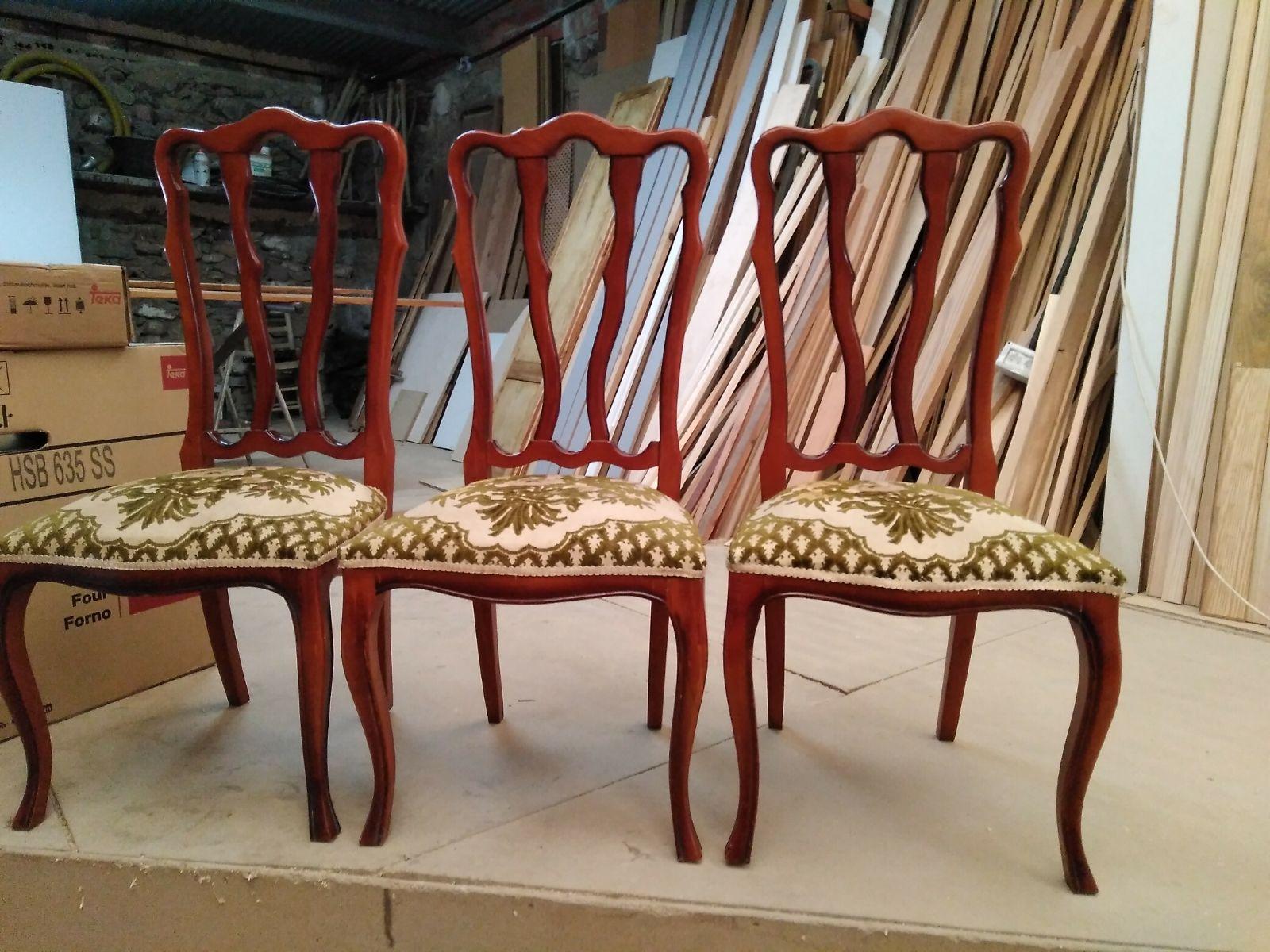 Tapizado de sillas a medida