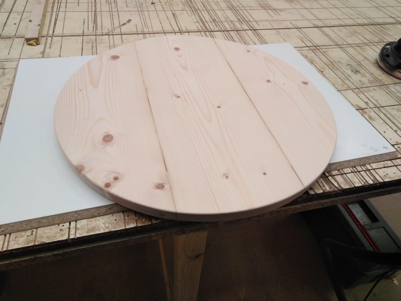Tapa de madera de pino para tinaja de aceite