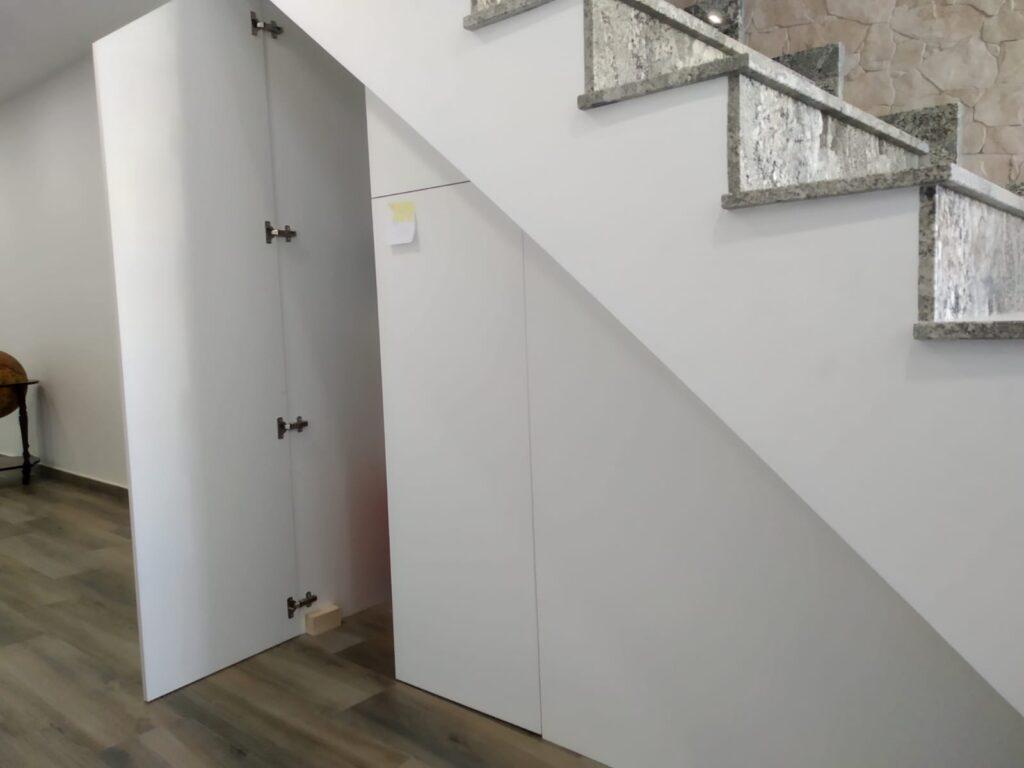hueco escalera Hueco De Escalera En Madera Carpintera Tablado