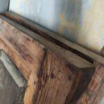 Restauración puerta exterior de vivienda en mobila vieja 03