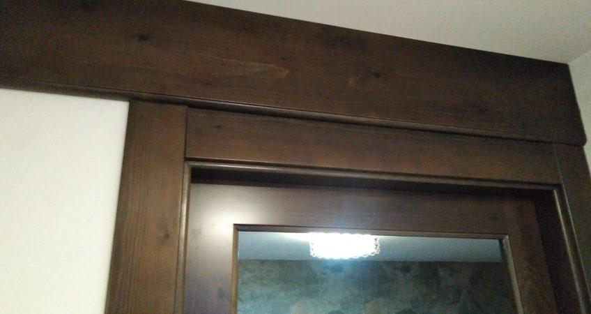 Puerta de paso en madera de pino, a medida
