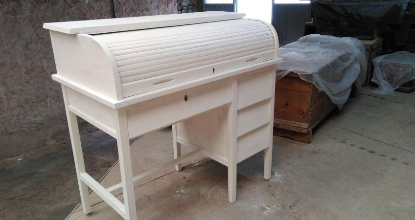 Restauración mueble escritorio mobila vieja